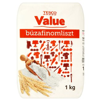 Tesco Value Plain Flour BL 55 1 kg