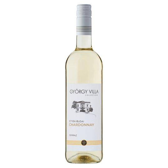 György-Villa Etyek-Budai Chardonnay Dry White Wine 750 ml