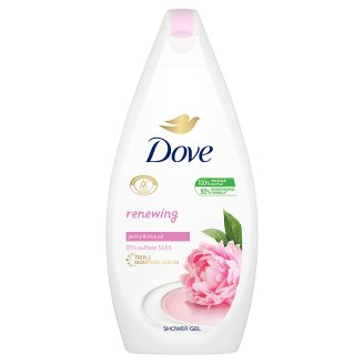 Dove Purely Pampering bőrtápláló krémtusfürdő 500 ml
