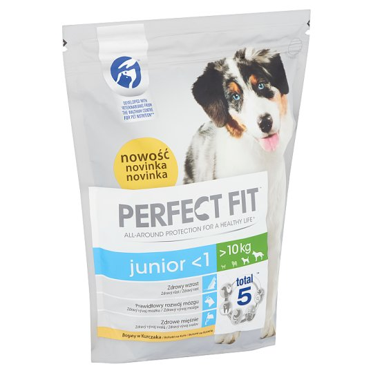 Perfect Fit Junior <1 M/L Complete Dry Dog Food for Puppies 1,4 kg