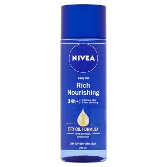 NIVEA Body Oil with Almond Oil 200 ml