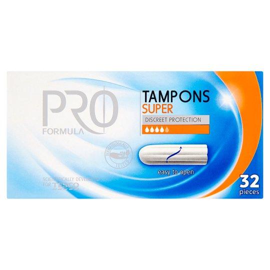 Tesco Pro Formula Super Tampons 32 pcs