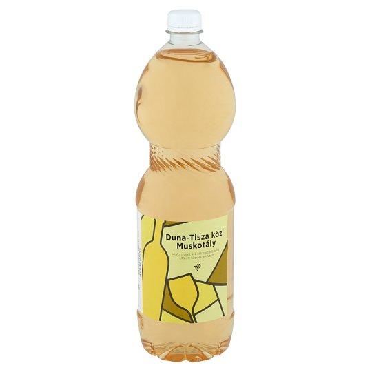 Duna-Tisza közi Muskotály Semi-Sweet White Wine 11% 1,5 l