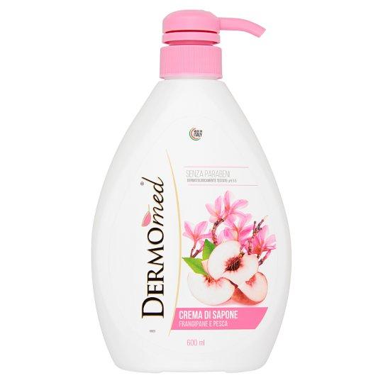 Dermomed Frangipani & Peach Cream Soap 600 ml