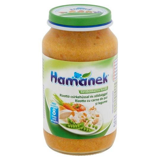 Hamánek Risotto with Chicken and Vegetables Baby Food 8+ Months 230 g