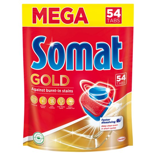Somat Gold Dishwasher Tabs 54 pcs 1036,8 g