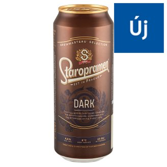 Staropramen minőségi barna sör 4,4% 0,5 l