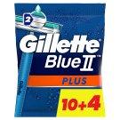 Gillette BlueII Plus Eldobható Férfi Borotva, 14 db