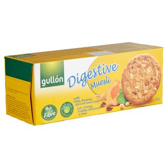 Gullón Digestive Muesli Biscuit with Oats, Raisins, Apricots and Soya 365 g