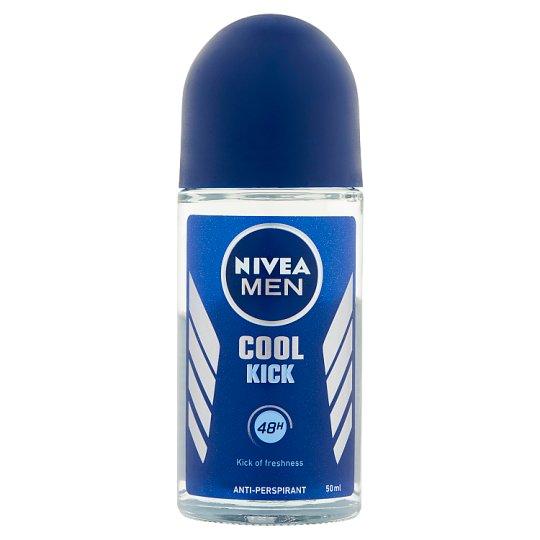 NIVEA MEN Cool Kick Anti-Perspirant Roll-On Deodorant 50 ml