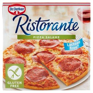 Dr. Oetker Ristorante Pizza Salame gyorsfagyasztott gluténmentes szalámis-sajtos pizza 315 g