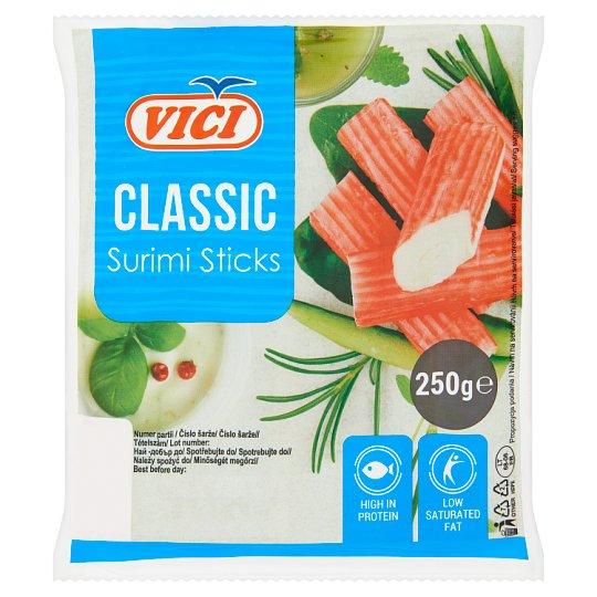 Vici Classic hűtött, surimi rák ízű halrúd 250 g