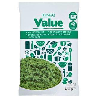 Tesco Value gyorsfagyasztott parajkrém 450 g