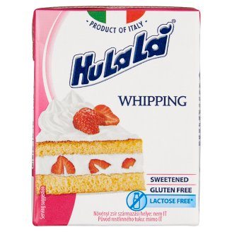 HuLaLá Chantilly Whipped Cream Base with Sugar 200 ml