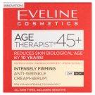 Eveline Cosmetics Age Therapist 45+ feszesítő és ránctalanító nappali/éjszakai krém-szérum 50 ml