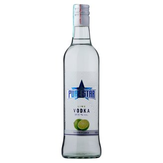 Pure Star Lime Flavoured Vodka 37,5% 500 ml