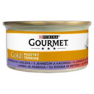 Gourmet Gold Terrine Wet Cat Food with Lamb and Duck 85 g