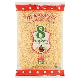 Dunakeszi Vermicelli Dry Pasta with 8 Eggs 200 g
