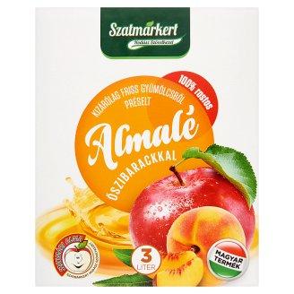 Szatmárkert Apple Juice with Peach 3 l