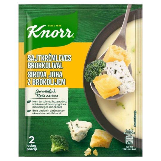 Knorr sajtkrémleves brokkolival 43g