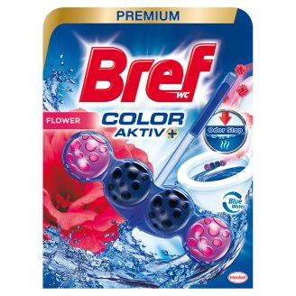 Bref Color Aktiv Fresh Flowers WC-frissítő 50 g