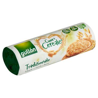 Gullón Cuor di Cereale Cereal Biscuit, High in Fibre 280 g