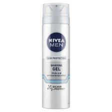 NIVEA MEN Silver Protect Shaving Gel 200 ml