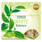 Tesco White Balance Rose Flower and Cornflower Flavoured Green and White Tea Blend 20 Tea Bags 34 g