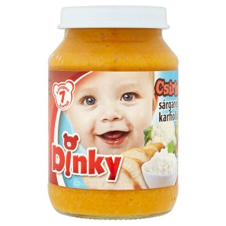 Dinky Gluten- and Dairy-Free Chicken with Carrot, Cauliflower & Rice Food for Babies 7+ Months 190 g