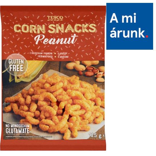 Tesco földimogyorós kukorica snack 125 g