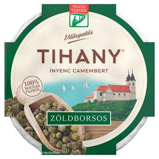 Tihany Válogatás Ínyenc Camembert Fat Soft Cheese with Green Pepper 125 g