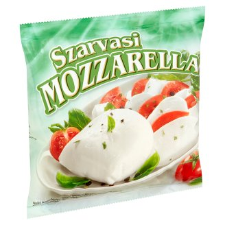 Szarvasi Mozzarella Fat, Soft Cheese 100 g