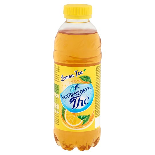 San Benedetto Thè Lemon Ice Tea Flavoured Drink with Sugar and Sweetener 0,5 l