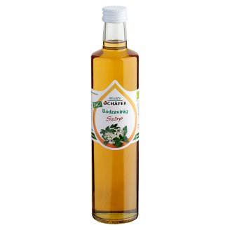 Schäfer Organic Elder Flower Syrup 500 ml
