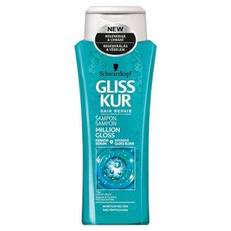 Gliss Kur hajregeneráló sampon Million Gloss 250 ml