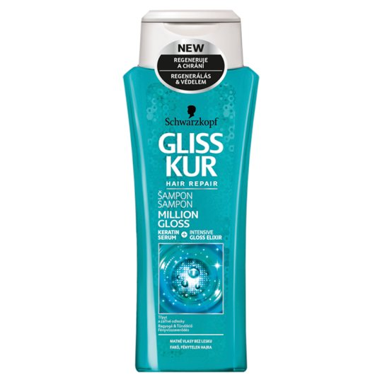 Gliss Kur Million Gloss Shampoo for Pallid Hair 250 ml