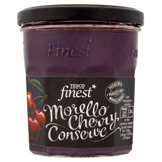 Tesco Finest Morello Sour Cherry Extra Jam 340 g
