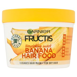 Garnier Fructis Banana Hair Food 3 Usages Hair Mask 390 ml