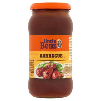 Uncle Ben's Barbecue hickory fán füstölt barbecue mártás 450 g