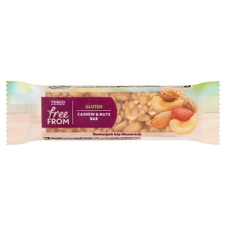 Tesco Free From Cashew & Nuts Bar 35 g