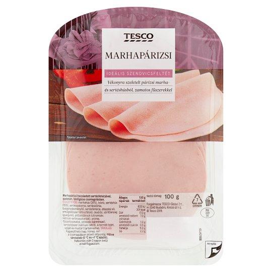 Tesco Beef Bologna Sausage 100 g
