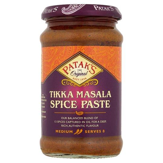 Patak's Tikka Masala Pasta Medium Hot Spice Mix in Oil 283 g