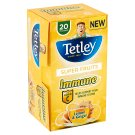 Tetley Super Fruits Immune Lemon and Ginger Fruit Infusion with Added Vitamin C 20 Tea Bag 40 g