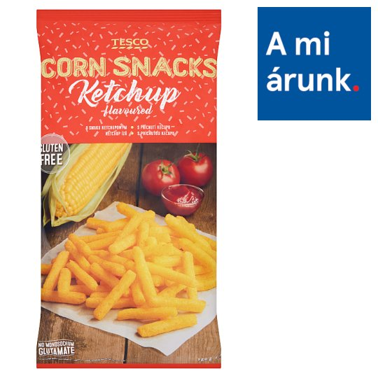 Tesco Ketchup Flavoured Corn Snack 125 g