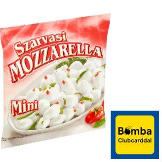 Szarvasi Mini mozzarella zsíros, lágy sajt 175 g