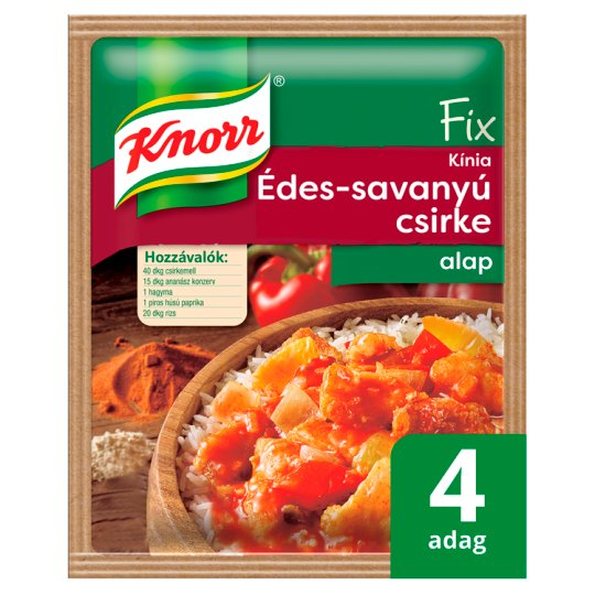 Knorr Fix Chinese Sweet-Sour Chicken Base 66 g