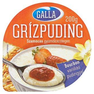 Galla grízpuding szamócás gyümölcsrétegen 200 g