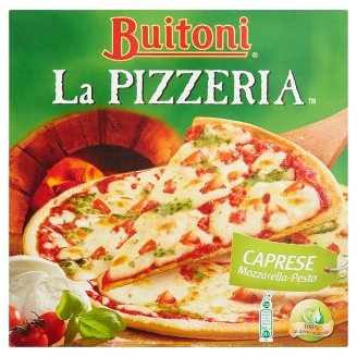Buitoni La Pizzeria Caprese Mozzarella-Pesto Deep-Frozen Pizza 320 g