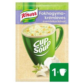 Knorr Cup a Soup fokhagymakrémleves zsemlekockával 18 g