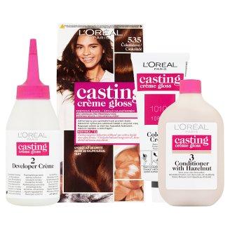 image 2 of L'Oréal Paris Casting Crème Gloss 535 Chocolate Care Hair Colorant